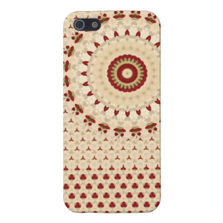 Savvy iPhone 5 Vintage Romantic Rosetta in Beige Cover For iPhone 5