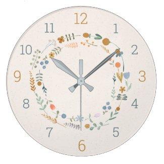 Savvy Nature Babies Acrylic Wall Clock
