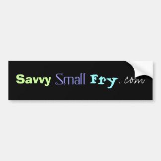 SavvySmallFry.com Pegatina Para Auto