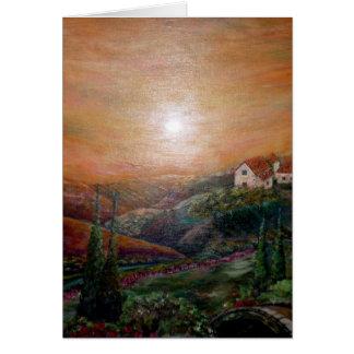 Savy's Tuscany Card
