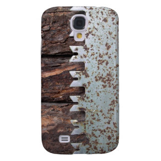 Saw and logs s4 phone case