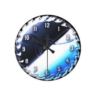 saw blade round clock