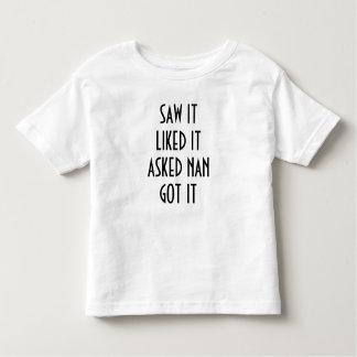 Saw it toddler t-shirt