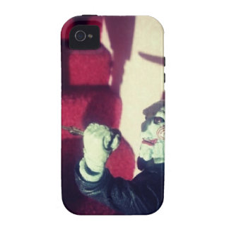 SAW Jigsaw Creepy Eerie Billy The Doll iPhone 4/4S Case