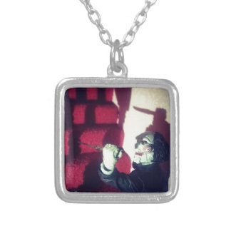 SAW Jigsaw Creepy Eerie Billy The Doll Necklaces