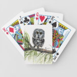 Saw Whet Owl Playing Cards