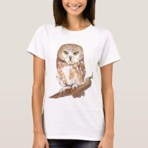 Saw Whet Owl T-Shirt
