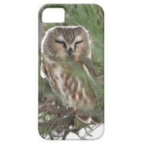 Saw Whett Owl Sleeps outside Motel on Jersey Shore iPhone SE/5/5s Case