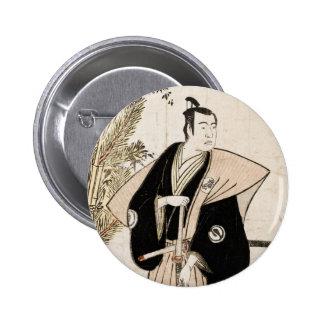 Sawamura Sojuro en el papel de Honda abotona Pins