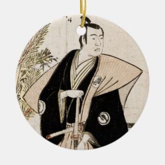 Sawamura Sojuro en el papel del ornamento de Honda Ornatos