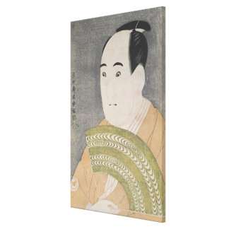 Sawamura Sojuro III in the Role of Ogishi Canvas Print