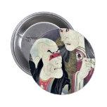 Sawamura Yodogoro II by Toshusai Sharaku Pinback Buttons