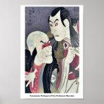 Sawamura Yodogoro II by Toshusai Sharaku Poster