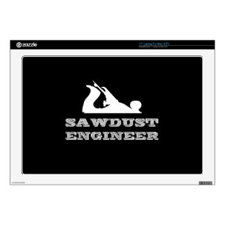 Sawdust Engineer Decal For Laptop