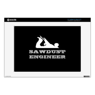 """Sawdust Engineer Decals For 13"""" Laptops"""