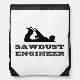 Sawdust Engineer Drawstring Backpack