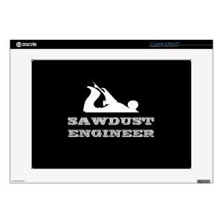 Sawdust Engineer Laptop Decal