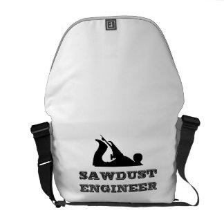 Sawdust Engineer Messenger Bag