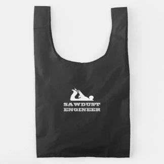 Sawdust Engineer Reusable Bag