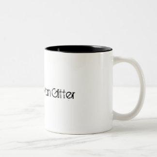Sawdust Is Man Glitter Two-Tone Coffee Mug