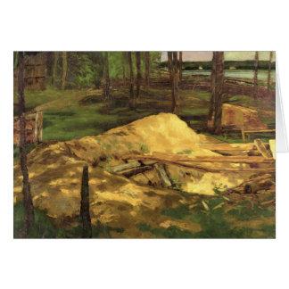 Sawdust Pit, 1876 Card