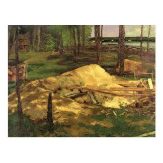 Sawdust Pit, 1876 Postcard