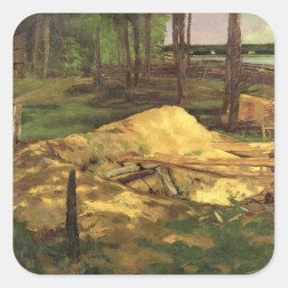 Sawdust Pit, 1876 Square Sticker