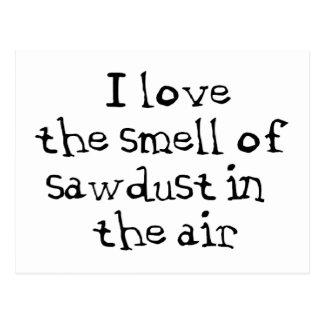 Sawdust Postcard