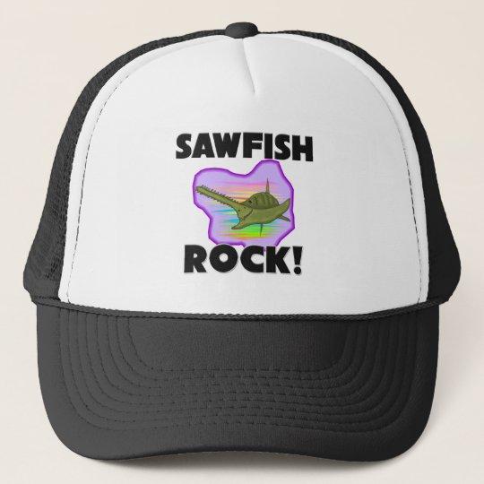 Sawfish Rock Trucker Hat