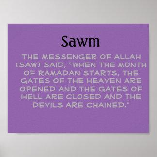 Sawm Poster
