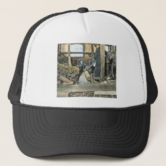 Sawmill Workers Magic Lantern Slide 2 Trucker Hat
