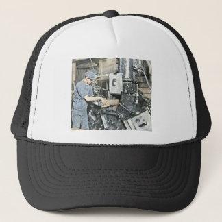 Sawmill Workers Magic Lantern Slide 3 Trucker Hat