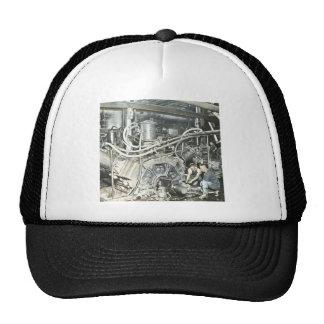 Sawmill Workers Magic Lantern Slide 4 Trucker Hat