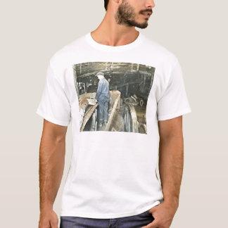 Sawmill Workers Magic Lantern Slide 5 T-Shirt