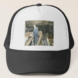 Sawmill Workers Magic Lantern Slide 5 Trucker Hat