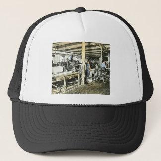 Sawmill Workers Magic Lantern Slide 6 Trucker Hat