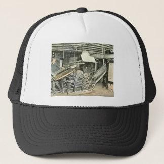 Sawmill Workers Magic Lantern Slide Trucker Hat