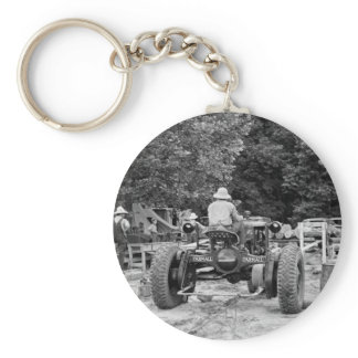 Sawmill Workhorse, 1936 Keychain
