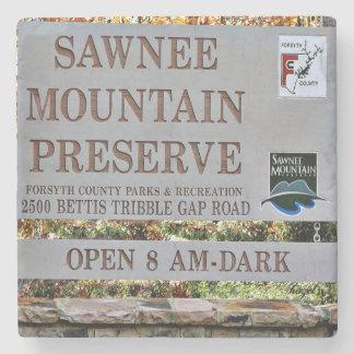 Sawnee Mountain Preserve, Cumming, Forsyth Georgia Stone Coaster