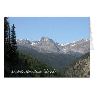 Sawtooth Mountain, Colorado Card