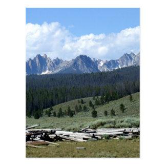 Sawtooth Mountains Postcard