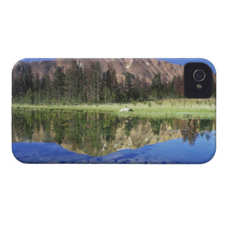 Sawtooth Mountains reflected in Fourth of July iPhone 4 Cover