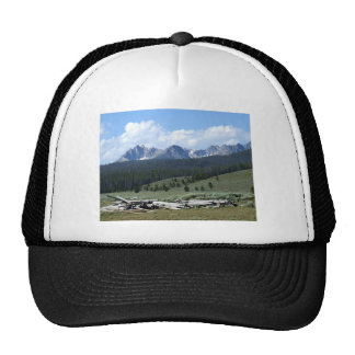 Sawtooth Mountains Trucker Hat