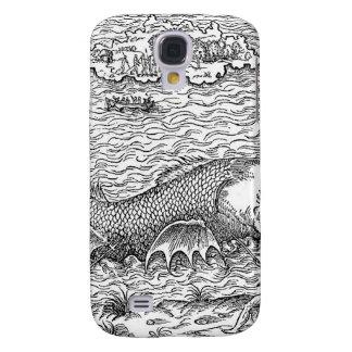Sawtooth Shark Map Monster Galaxy S4 Case