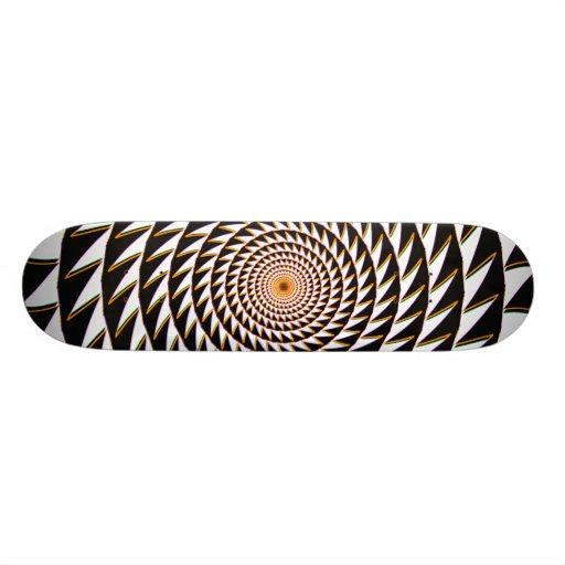 Sawtooth Spiral: Skateboard