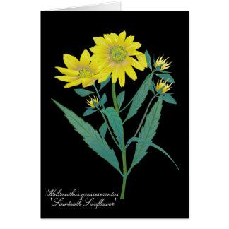 Sawtooth Sunflower Greeting Card