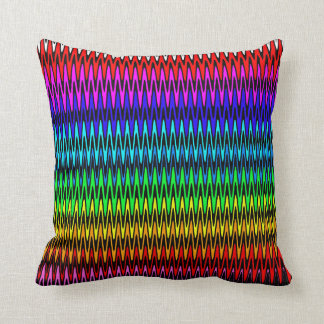 Sawtooth Throw Pillow