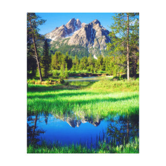 Sawtooth Wilderness Canvas Print