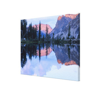 Sawtooth Wilderness, Idaho. USA. Cumulus Canvas Print