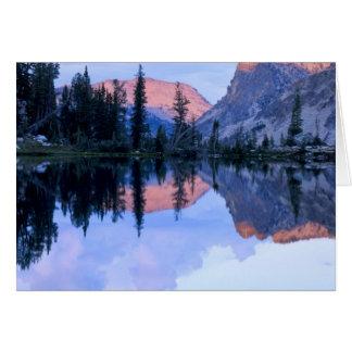 Sawtooth Wilderness, Idaho. USA. Cumulus Card
